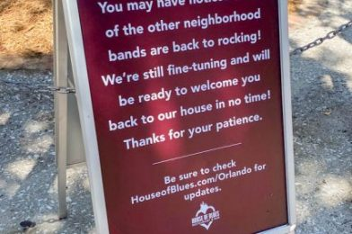 """House of Blues in Disney World Is """"Opening Soon."""" Get All the Details on Their New Health and Safety Protocols HERE"""