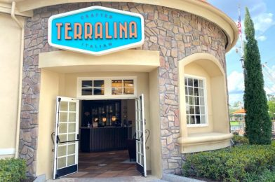 Terralina Crafted Italian Is Back OPEN in Disney Springs!