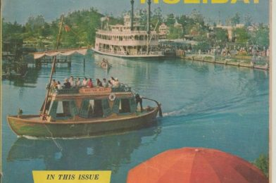 """Take a Vintage Tour of The Happiest Place on Earth with this Summer 1957 Issue of """"Disneyland Holiday"""""""