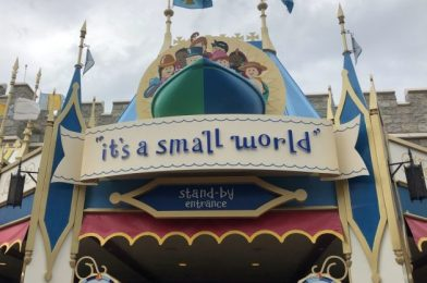 "DIY Disney: Bring the Disney Parks Home With This ""it's a small world"" Craft!"
