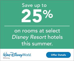 WDW Summer Discount
