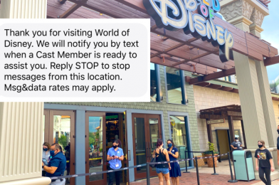 PHOTOS: World of Disney and Marketplace Co-Op Utilizing Virtual Queuing System for Reopening at Disney Springs
