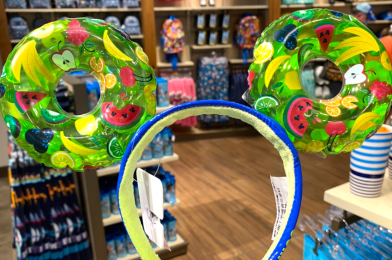 """PHOTOS: New """"Sweet Summer"""" Mickey Mouse Pool Float Ears Wade Into Disney Springs"""