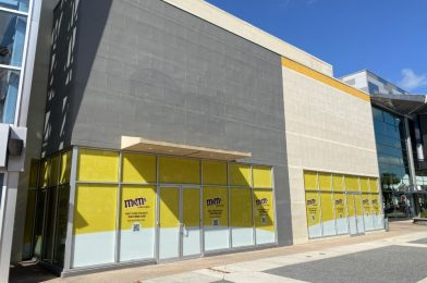 M&M's Store at Disney Springs on Target for 2020 Grand Opening
