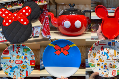 "PHOTOS: New Mickey ""Mousewears"" Collection at World of Disney Brings a Touch of Character to Your Kitchen"