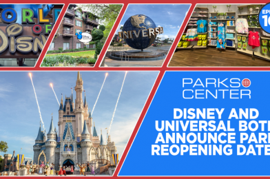 TONIGHT: ParksCenter – Disney and Universal Both Announce Park Reopening Dates – Ep. 103