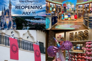 WDWNT Weekly Recap: Walt Disney World Reopening on July 11, World of Disney Reopens at Disney Springs, Plus All FastPass+ and Dining Reservations Cancelled