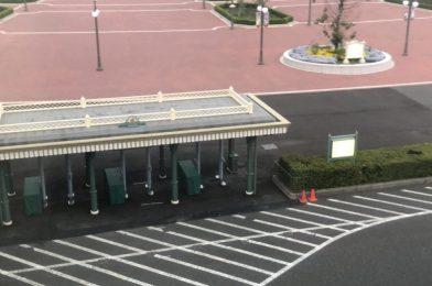 PHOTOS: Metal Detectors Installed in Front of Tokyo Disneyland