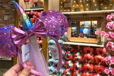 PHOTOS: New Sequin Unicorn Minnie Mouse Ear Headbands Bring Magic to Disney Springs