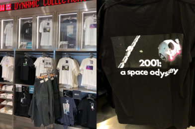 "PHOTOS: UNIQLO Debuts New Sci-Fi Movie T-Shirts Featuring ""Alien"" and ""2001: A Space Odyssey"" at Disney Springs"