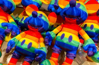 Disney Is Releasing a NEW Rainbow Mickey Plush on Amazon Soon! See Him Here!