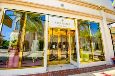 'Live Colorfully' at Kate Spade New York — Now Reopen in Disney Springs