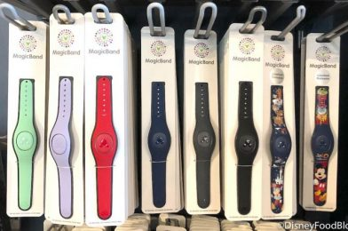 We're OBSESSED With These NEW Magenta MagicBands Spotted at Disney Springs!