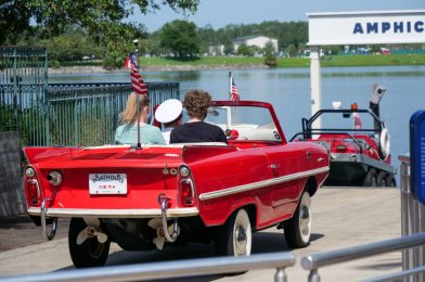 PHOTO REPORT: Disney Springs 5/31/20 (Amphicars Launch Again, New World of Disney Merchandise, Mask Availability, and More)