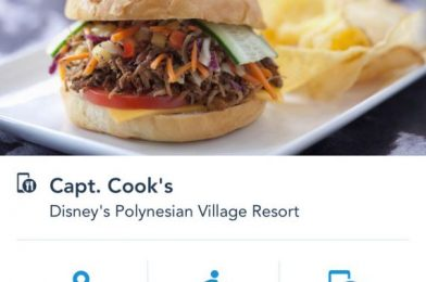Here's a FIRST LOOK at Mobile Dine Check-In at Disney World