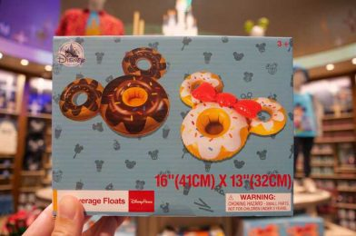 PHOTOS: New Mickey and Minnie Beverage Floats Arrive at World of Disney in Disney Springs