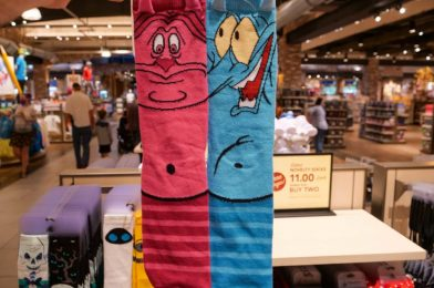 PHOTOS: We Are Not Worthy of these Hercules Inspired Socks Found at World of Disney in Disney Springs