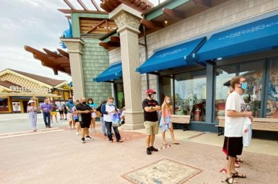 Disney Springs Is BUSTLING Today, and World of Disney is BACK On A Virtual Queue