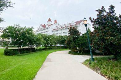 Construction Update! See How Grand Floridian Resort's New Walkway Has Progressed!