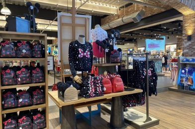 New Minnie Mouse Loungefly Backpack Is One of First to Debut at Disney Springs
