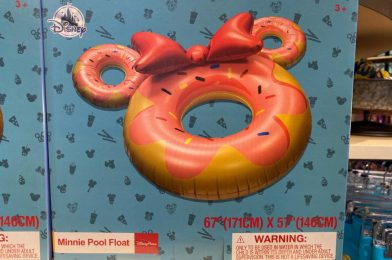 PHOTOS: New Minnie Mouse Donut Pool Float Arrives into Disney Springs