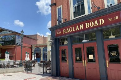 Raglan Road Prepares to Reopen and Outdoor Seating is Expanded At Select Disney Springs Restaurants