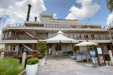 Review and Photos: A Crab Cake BLT?! We're Eating at the Reopened Paddlefish in Disney World!