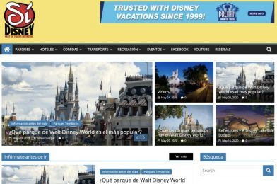 New Spanish Language Disney Planning Site and YouTube Channel, SiDisney, Launch Today