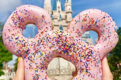 Spotted! Float Into Summer With the NEW Minnie Mouse DONUT Pool Float in Disney Springs