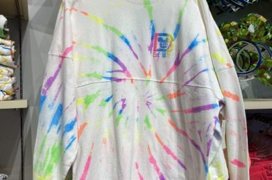 Get Into the Groovy with Disney Tie Dye Spirit Jersey and Crocs