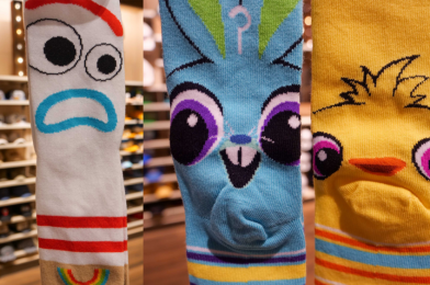 PHOTOS: New Toy Story 4 Socks Found at World of Disney are Fun for the Whole Family