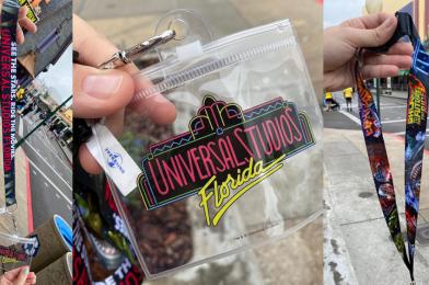 """PHOTOS: New """"See The Stars, Ride The Movies"""" 30th Anniversary Lanyard Debuts at Universal Studios Florida"""