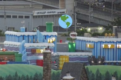 PHOTOS: First Look at Nighttime Lighting, Piranha Plants, Thwomp, and the Red Glow of Bowser's Castle at Super Nintendo World in Universal Studios Japan