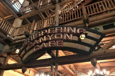 Review and Food Photos: Breakfast at Whispering Canyon Cafe in Disney World's Wilderness Lodge