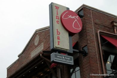 Review! Wine Bar George in Disney World Has a NEW Exclusive Whiskey AND Cocktail!