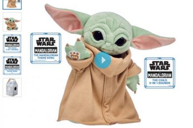 Ready For Round FOUR?? Baby Yoda Is Coming BACK to Build-A-Bear!