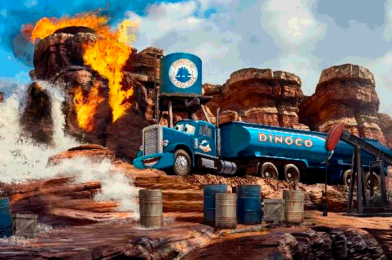 """New Attraction Photo Emerges for Upcoming """"Cars Route 66"""" Attraction in Disneyland Paris"""
