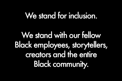 Disney Takes A Stand Against Racism Across Social Media Channels in Light of Protests