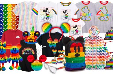 Disney Releases Fabulous Line of Rainbow Merch in Celebration of Pride Month
