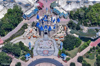 Walt Disney World Issues Trespass Warning to Man Illegally Flying Drone Over Magic Kingdom