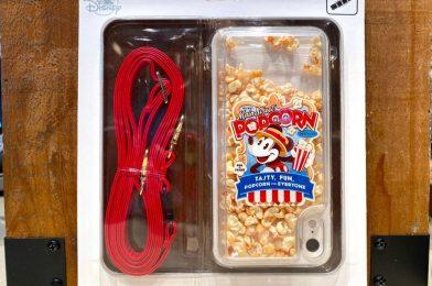 PHOTOS: New Mickey Main Street Popcorn Phone Case Pops into Disney Springs