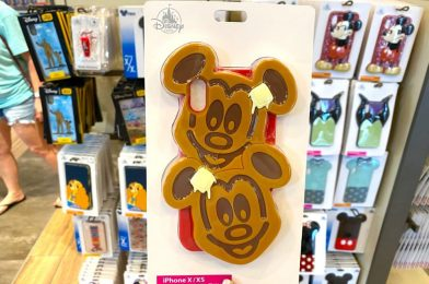 PHOTOS: New Mickey Waffle Phone Case Serves Up a Smile at Disney Springs