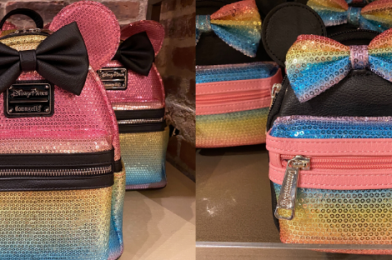 PHOTOS: New Minnie Mouse Sequin Loungefly Mini Backpack and Wristlet Sparkle at Disney Springs