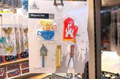 """PHOTOS: Fun New """"Mousewares"""" Kitchen Magnet Set Snaps into Disney Springs"""