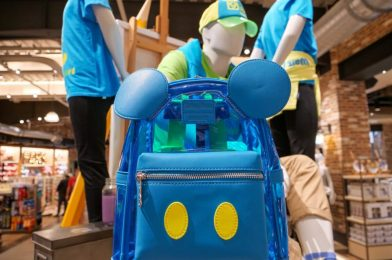 PHOTOS: New Neon Summer Loungefly Mini Backpack Brings a Bright Pop of Color to Disney Springs
