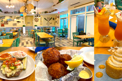 PHOTOS, REVIEW: Lunch at the Newly-Reopened Olivia's Cafe in Disney's Old Key West Resort