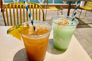 REVIEW: Frozen Surfside Whitewash and High Tide Mai Tai from Sand Bar at Universal's Endless Summer – Surfside Inn and Suites Bring a Taste of Tropical Paradise