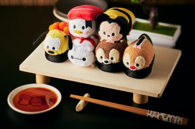 Disney Store Japan to Release Sushi Tsum Tsum Collection July 1st