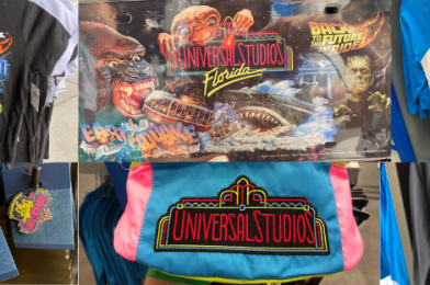 PHOTOS: New Universal Studios Florida 30th Anniversary Merchandise Celebrates with Retro Styles