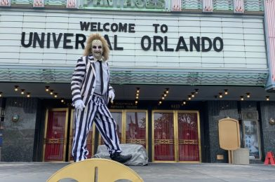 PHOTOS, VIDEO: Characters Make Socially Distant Appearances at Universal Orlando